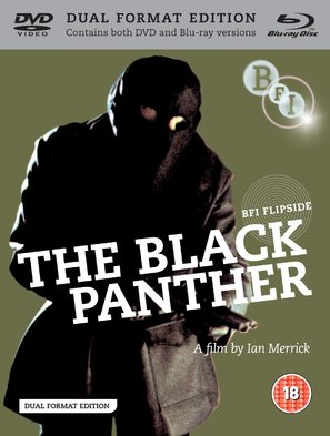 The Black Panther - British Blu-Ray movie cover (thumbnail)