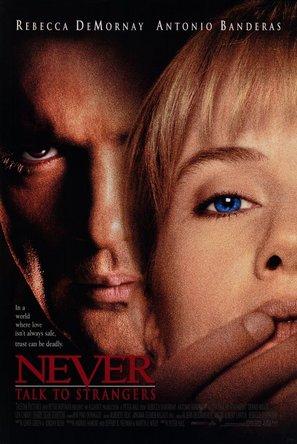 Never Talk to Strangers - Movie Poster (thumbnail)