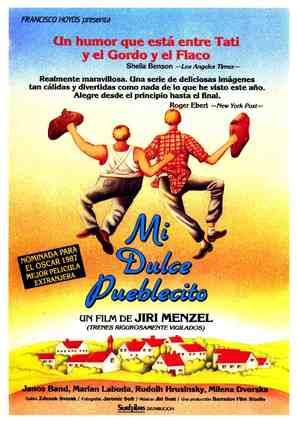 Vesnicko má stredisková - Spanish Movie Poster (thumbnail)