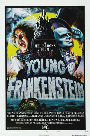 Young Frankenstein - Movie Poster (thumbnail)