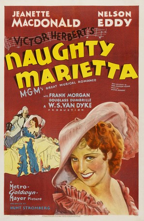 Naughty Marietta - Re-release poster (thumbnail)