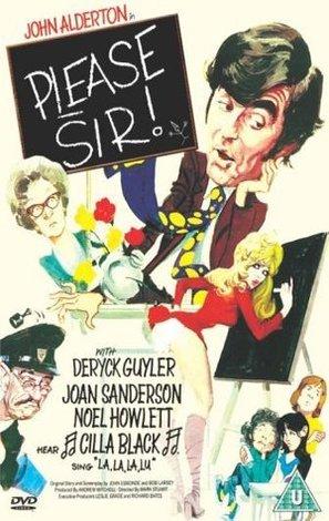 Please Sir! - British DVD movie cover (thumbnail)