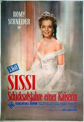 Sissi - Schicksalsjahre einer Kaiserin - German Movie Poster (thumbnail)