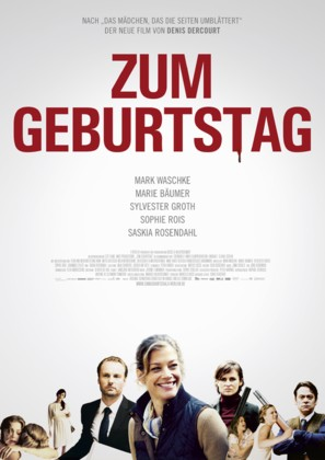Zum Geburtstag - German Movie Poster (thumbnail)