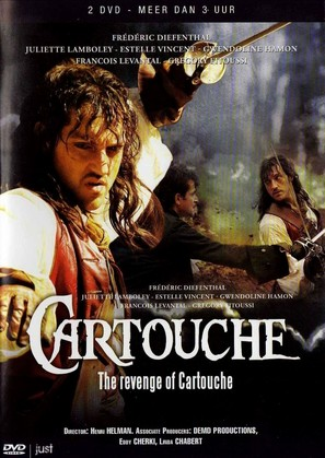 Cartouche, le brigand magnifique - Dutch Movie Cover (thumbnail)