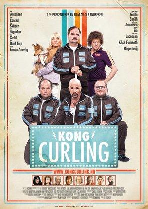Kong Curling - Norwegian Movie Poster (thumbnail)