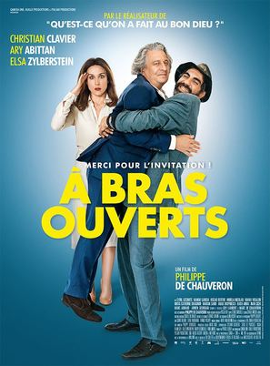 À bras ouverts - French Movie Poster (thumbnail)