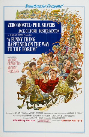 A Funny Thing Happened on the Way to the Forum - Movie Poster (thumbnail)