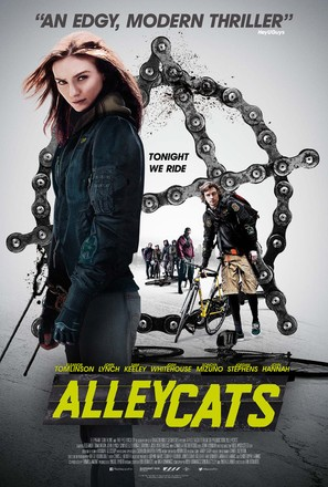 Alleycats - British Movie Poster (thumbnail)