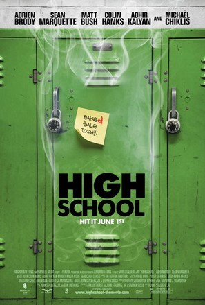 High School - Movie Poster (thumbnail)