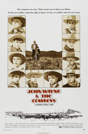 The Cowboys - Theatrical poster (thumbnail)