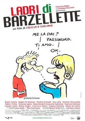 Ladri di barzellette - Italian Movie Poster (thumbnail)