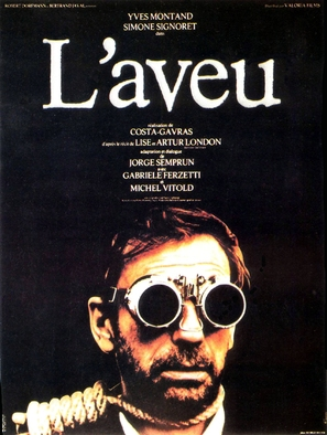 L'aveu - French Movie Poster (thumbnail)