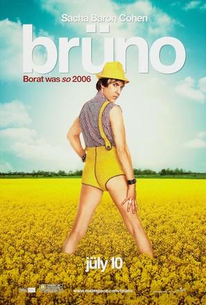 Brüno - Advance poster (thumbnail)