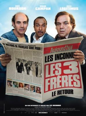 Les trois frères, le retour - French Movie Poster (thumbnail)