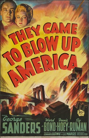 They Came to Blow Up America - Movie Poster (thumbnail)