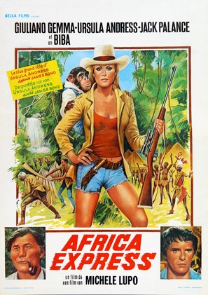 Africa Express - Belgian Movie Poster (thumbnail)
