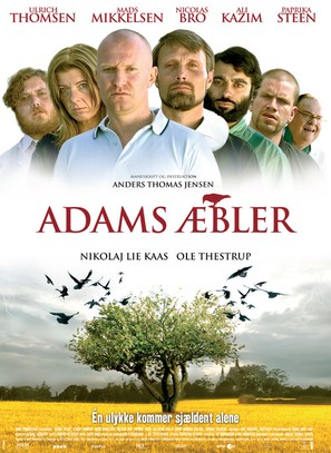 Adams æbler - Danish Movie Poster (thumbnail)