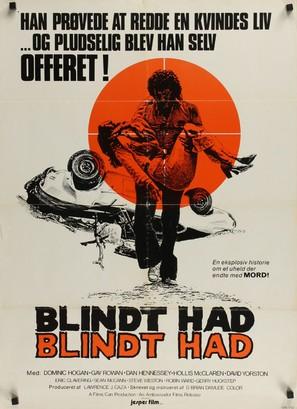 Sudden Fury - Danish Movie Poster (thumbnail)