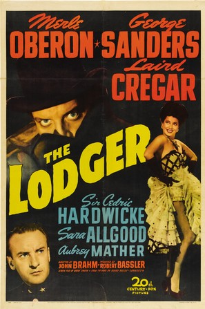 The Lodger - Theatrical poster (thumbnail)