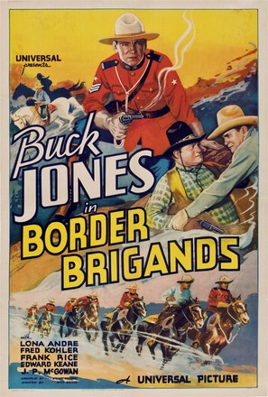 Border Brigands - Movie Poster (thumbnail)
