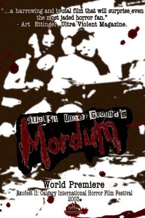 August Underground's Mordum - poster (thumbnail)
