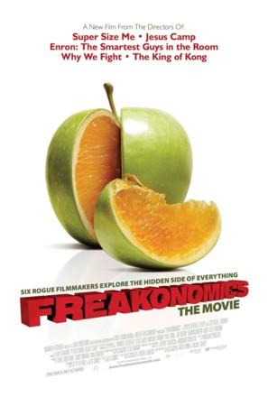 Freakonomics - Movie Poster (thumbnail)