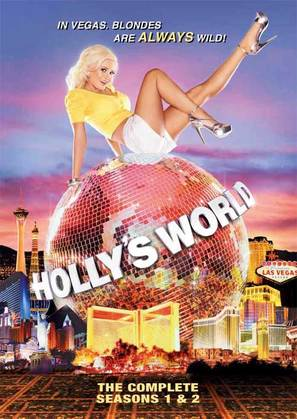 """""""Holly's World"""" - DVD cover (thumbnail)"""