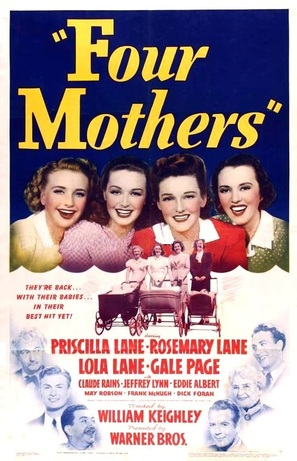 Four Mothers - Movie Poster (thumbnail)
