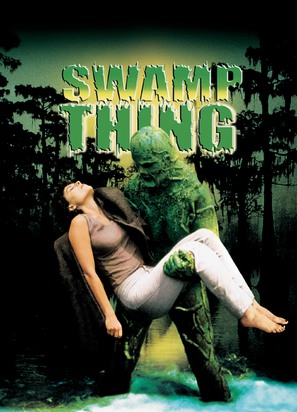 Swamp Thing - DVD cover (thumbnail)