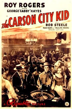 The Carson City Kid - Movie Poster (thumbnail)