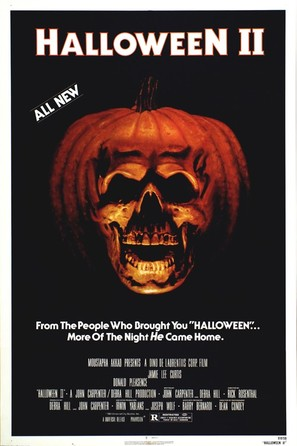 Halloween II - Movie Poster (thumbnail)