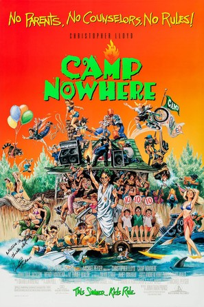 Camp Nowhere - Movie Poster (thumbnail)