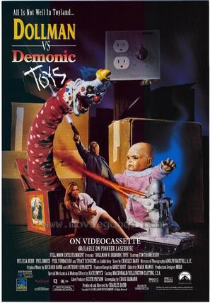 Dollman vs. Demonic Toys - Video release poster (thumbnail)