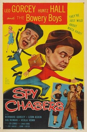 Spy Chasers - Movie Poster (thumbnail)