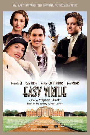 Easy Virtue - Movie Poster (thumbnail)