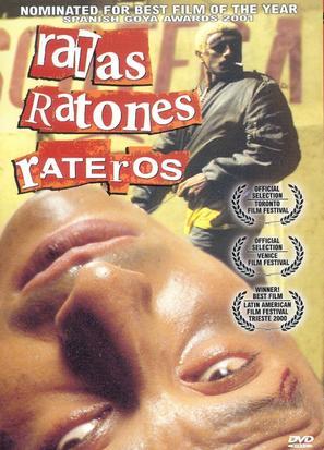 Ratas, ratones, rateros - Ecuadorian DVD cover (thumbnail)