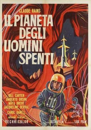 Il pianeta degli uomini spenti - Italian Movie Poster (thumbnail)