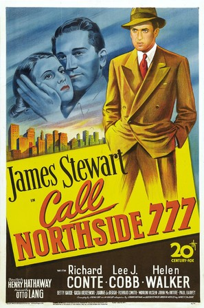 Call Northside 777 - Movie Poster (thumbnail)