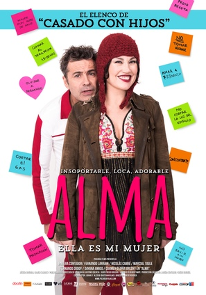Alma - Chilean Movie Poster (thumbnail)