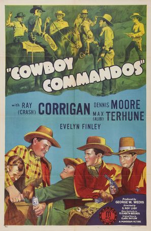 Cowboy Commandos - Movie Poster (thumbnail)