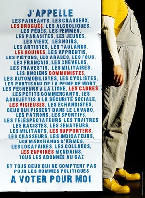 Coluche - French poster (thumbnail)