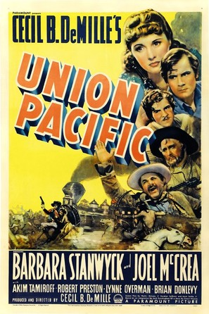 Union Pacific - Movie Poster (thumbnail)