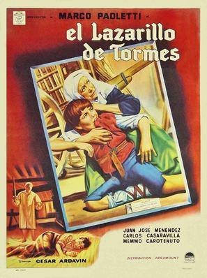 El lazarillo de Tormes - Spanish Movie Poster (thumbnail)