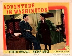 Adventure in Washington - poster (thumbnail)