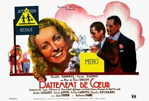 Battement de coeur - French Movie Poster (thumbnail)