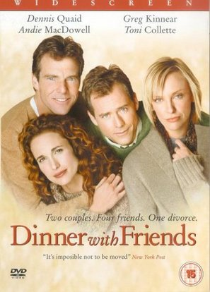 Dinner with Friends - British DVD movie cover (thumbnail)