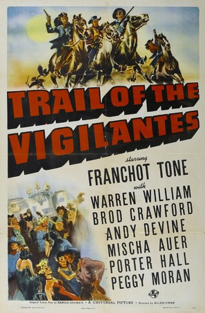 Trail of the Vigilantes - Movie Poster (thumbnail)