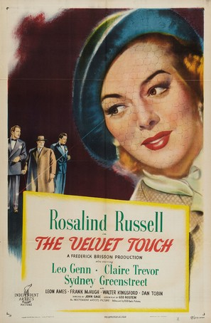 The Velvet Touch - Movie Poster (thumbnail)