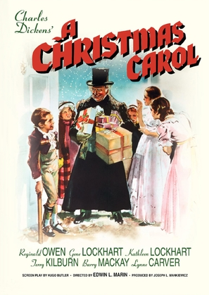 A Christmas Carol - DVD cover (thumbnail)